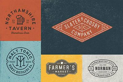 10-logo-badge-templates 30+ Best Free Logo Makers + Design Templates 2021 design tips