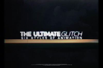 Glitch Title Animations