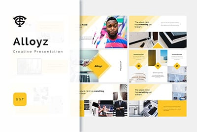 Alloyz Business Template