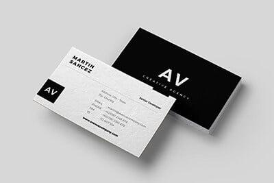 B&W Business Card