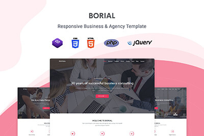 Borial Business Template