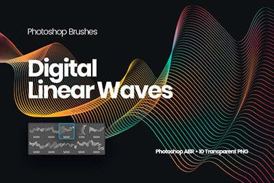 Digital Linear Waves