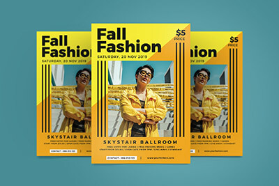 Fall Fashion Flyer