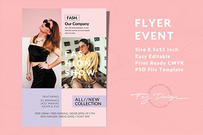 Fashion Flyer Event