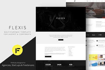 Flexis Bootstrap Template