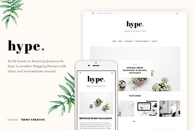 Hype Blogging Theme