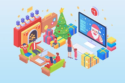 Isometric Christmas