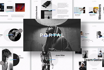 Portal Keynote Template