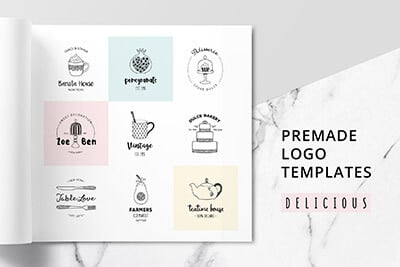 premade-logo-templates 30+ Best Free Logo Makers + Design Templates 2021 design tips