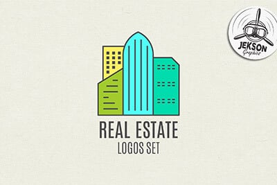 real-estate-logo-set 20+ Best Free Logo Templates design tips