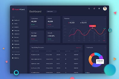 Sketch Dashboard UI