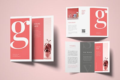Trifold Typography