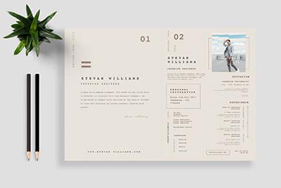 20 Best Pages Resume Cv Templates Design Shack