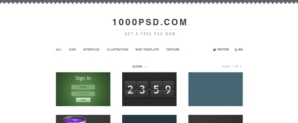 View Information about 1000psd