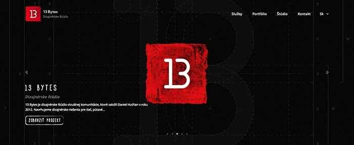 View Information about 13 Bytes - Design studio