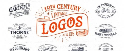 View Information about 19th Century Vintage Logos