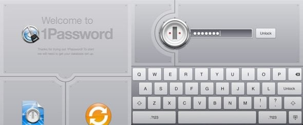 View Information about 1Password for iPad