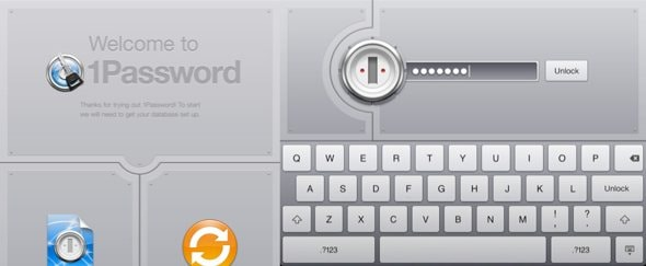 Go To 1Password for iPad