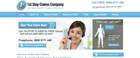 View Information about 1st Stop Claims Company