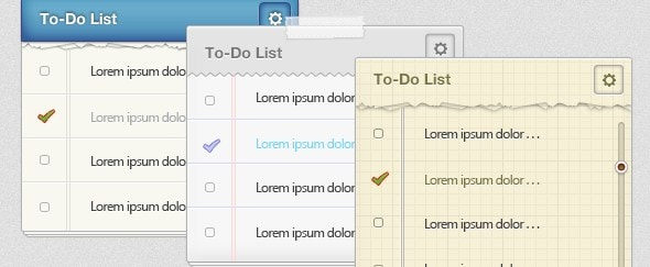 View Information about 3 Varied To-Do Lists