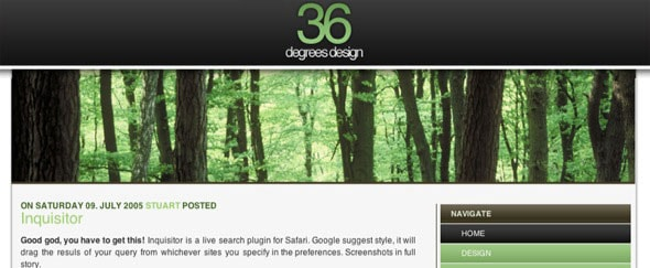 View Information about 36 Degrees Design