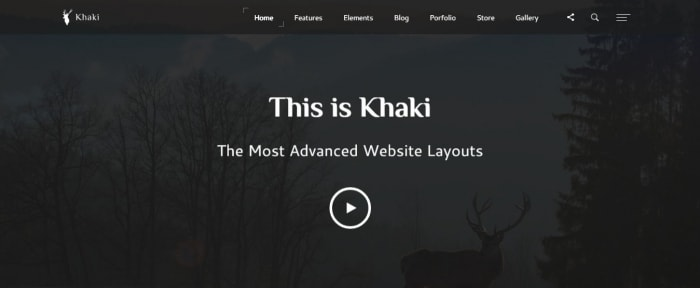 View Information about Khaki Template