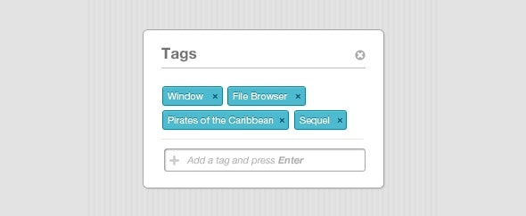 View Information about Add Tags
