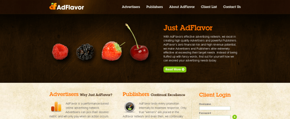 View Information about Ad Flavor