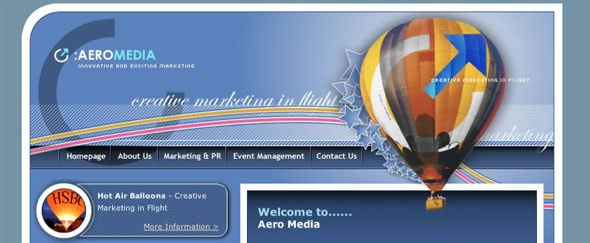 View Information about Aero Media