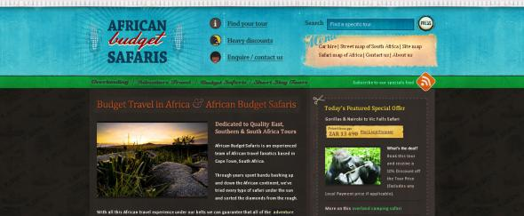 View Information about African Budget Safaris