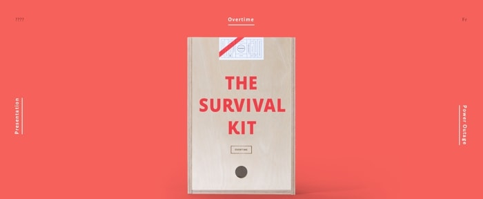 View Information about Agency Survival Kits