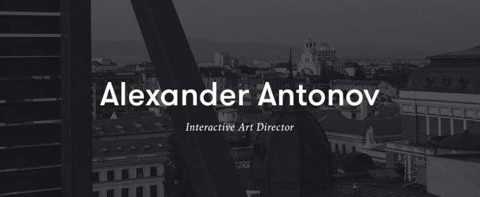 View Information about Alexander Antonov Design Portfolio