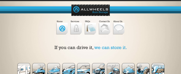 View Information about All Wheels Auto Storage