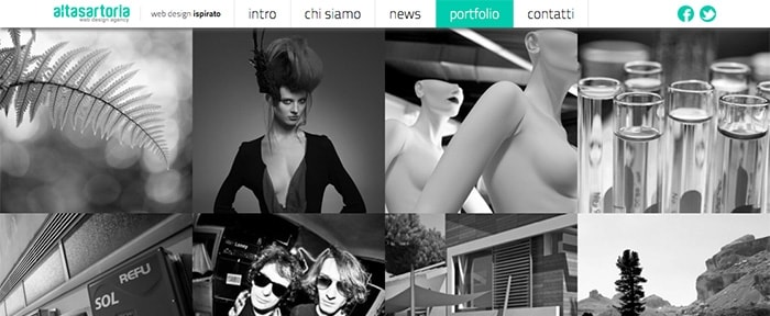 View Information about Alta Sartoria web design agency