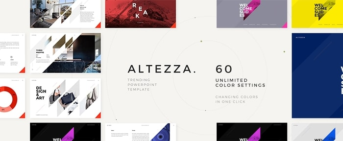 Go To ALTEZZA PowerPoint Template