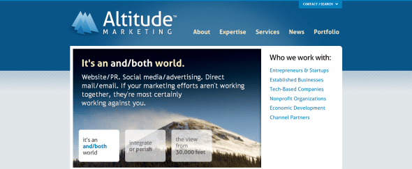 View Information about Altitude Marketing