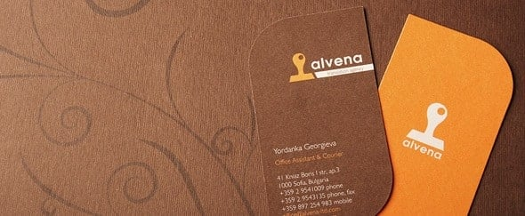 Go To Alvena Business Cards
