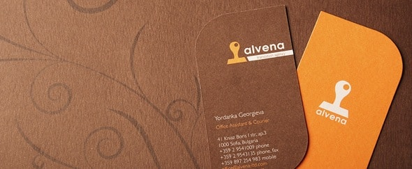 View Information about Alvena Business Cards