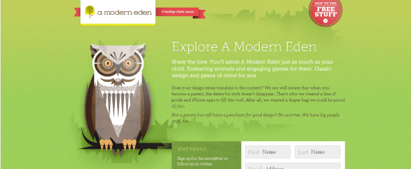 View Information about A Modern Eden
