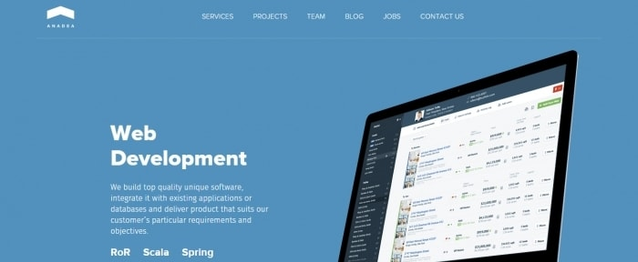 View Information about Anadea