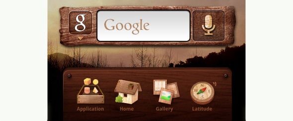 View Information about Android Wood Theme