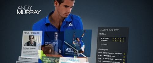 View Information about Andy Murray
