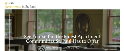 View Information about Apartments in St  Paul