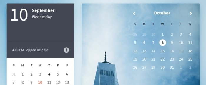 View Information about Appon Calendar