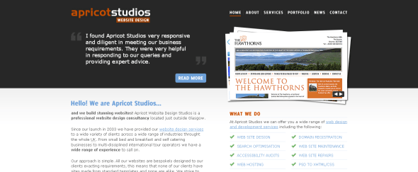 View Information about Apricot Studios
