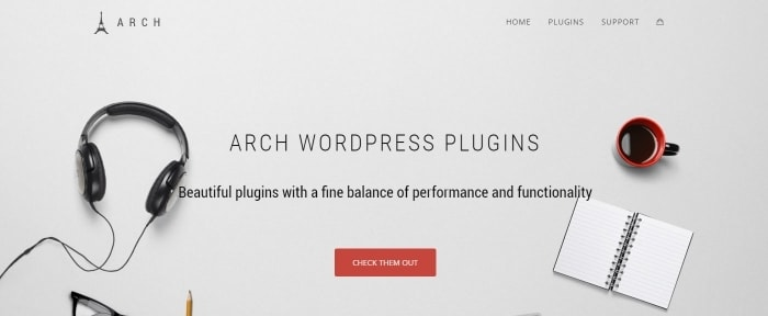 View Information about Arch WordPress Plugins