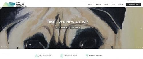 View Information about Art Lovers Australia