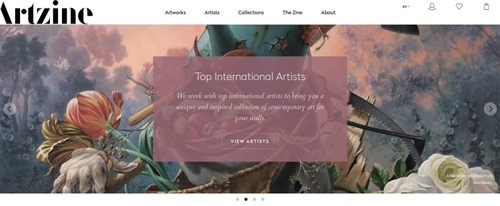 View Information about Artzine