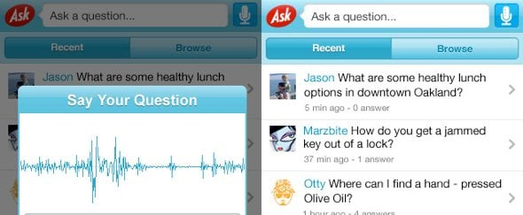 View Information about Ask for iPhone