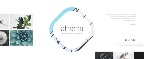 View Information about Athena Keynote Presentation